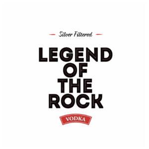 Silver filtered vodka - Legend of the Rock